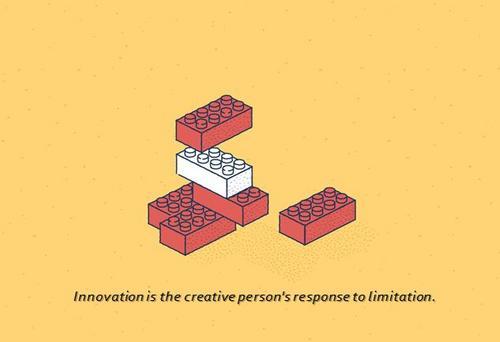 Criatividade das restrições, ou porque a vida  deveria imitar a arte.